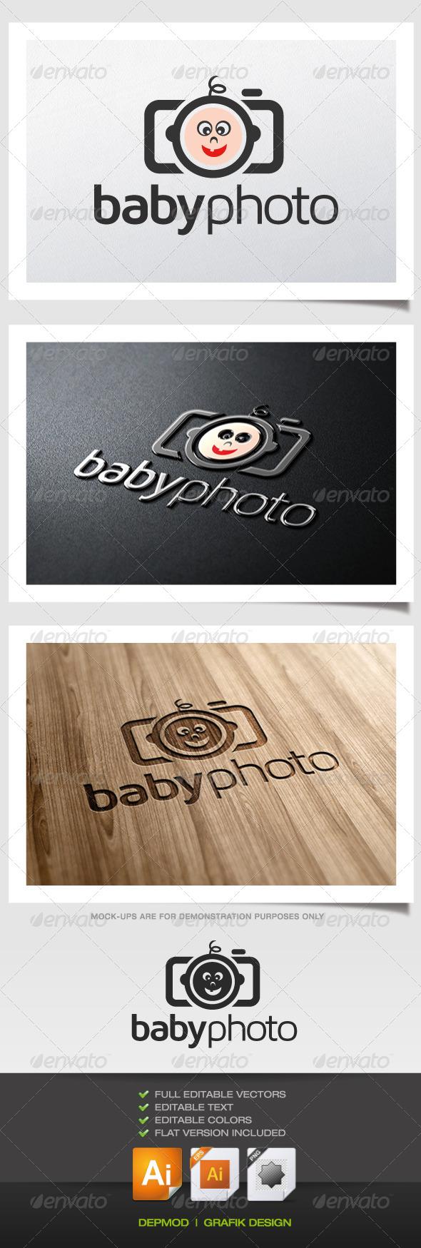 GraphicRiver Baby Photo Logo 5365476