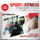 Fitness & Sport 8 Pages Simple Brochure - GraphicRiver Item for Sale