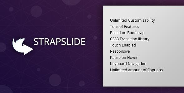 CodeCanyon Strapslide Responsive Bootstrap Slider Plugin 5352114