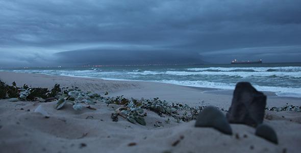 Cape Town Misty Time Lapse