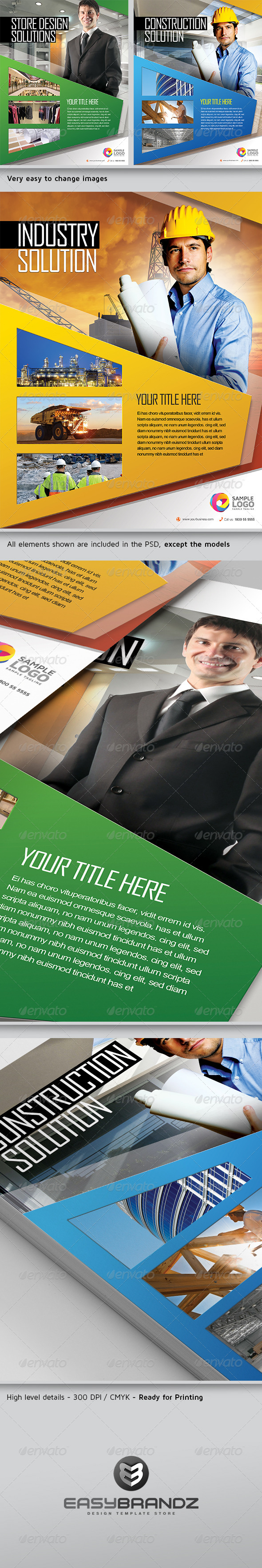 GraphicRiver Multipurpose Business Flyer AD Template Vol.02 5367249