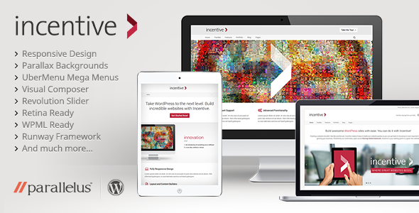 ThemeForest Incentive Responsive All-Purpose Theme 5367423