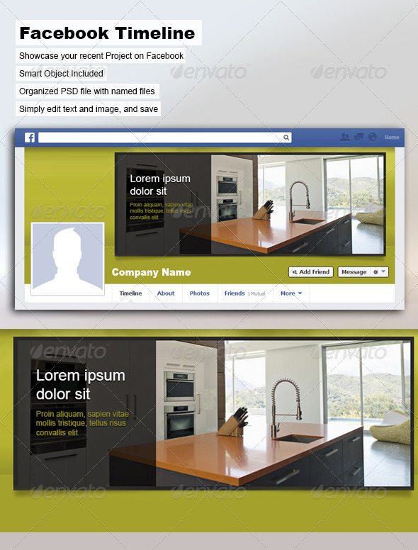 GraphicRiver Facebook Timeline Cover 5367734