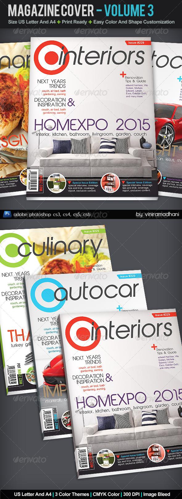 GraphicRiver Magazine Cover Volume 3 5368803
