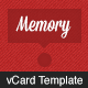 Link toMemory - vcard template