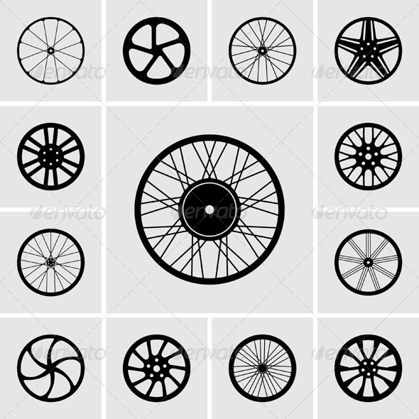 GraphicRiver Wheel Icons 5370078