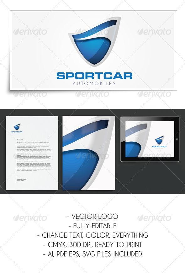 GraphicRiver Sportcar Logo Template 5362066