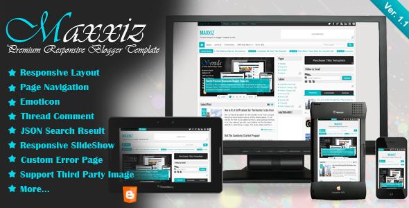 Maxxiz - Responsive Blogger Template - Blogger Blogging
