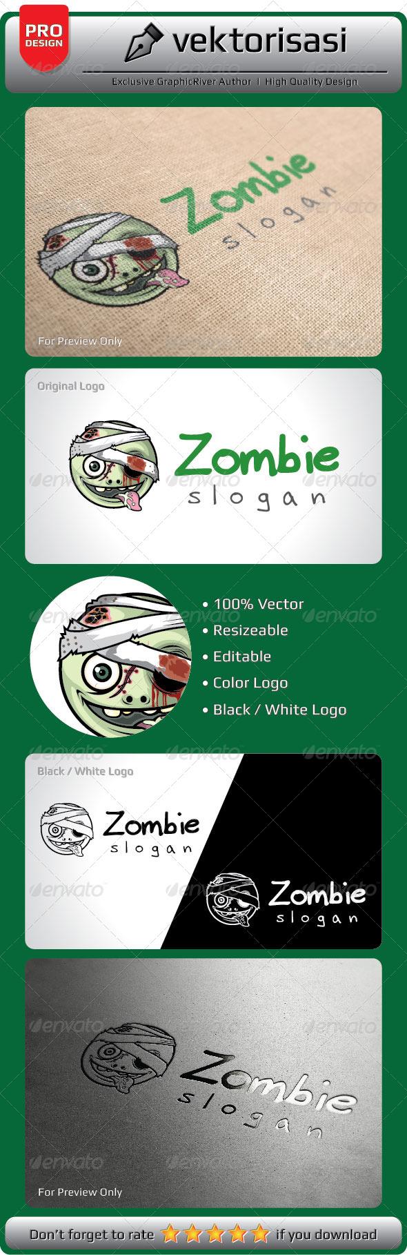 GraphicRiver Zombie Logo 5370883