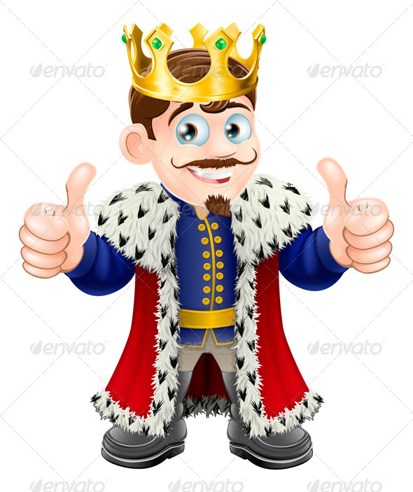 King Cartoon - People Characters