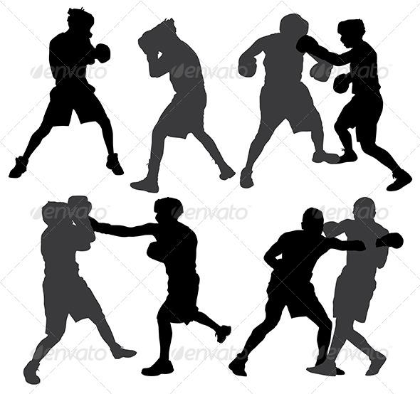 GraphicRiver Boxing Sport 5371350