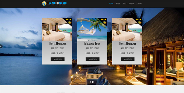 ThemeForest Travel The World 5307981
