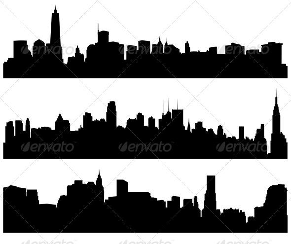 GraphicRiver City Skylines 5372293