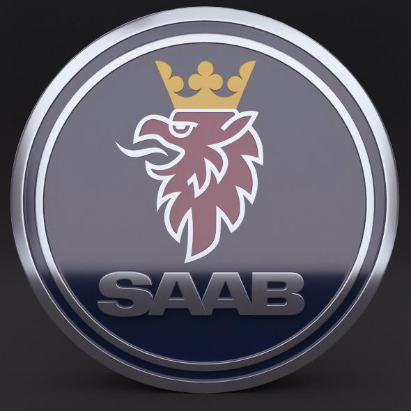 3DOcean Saab Logo 5354456