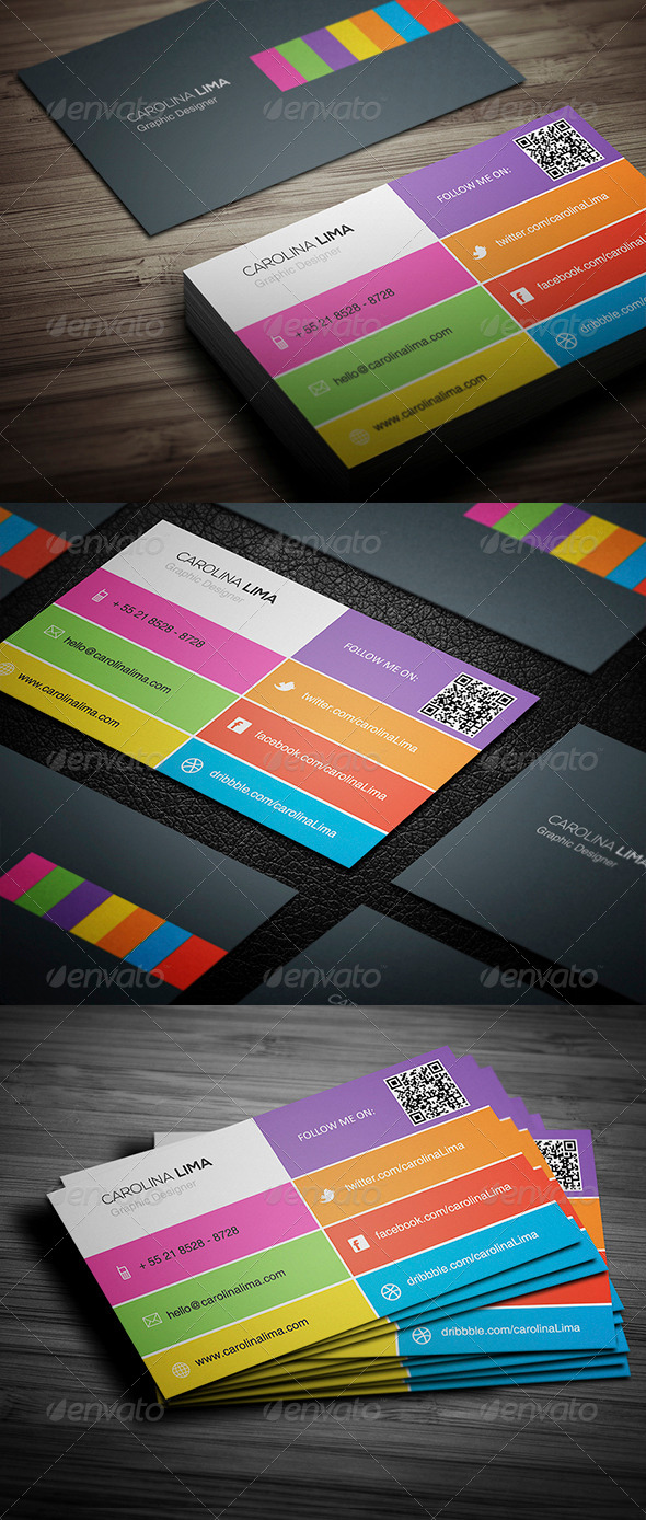 GraphicRiver Creative Business Card 010 5372416