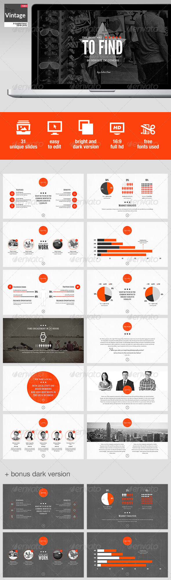 GraphicRiver TheVintage Powerpoint Template 5372757