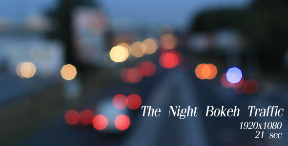 The Night Bokeh Traffic 7
