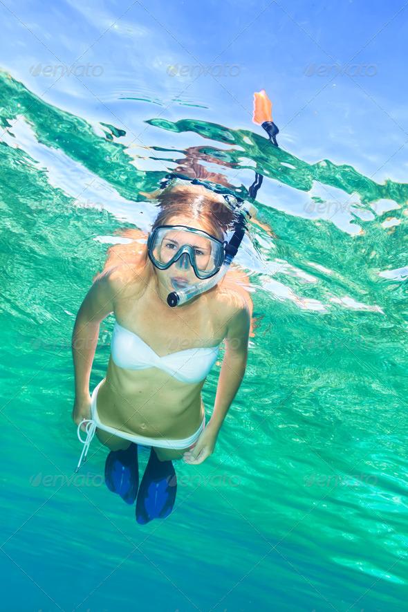Snorkeling - PhotoDune Item for Sale