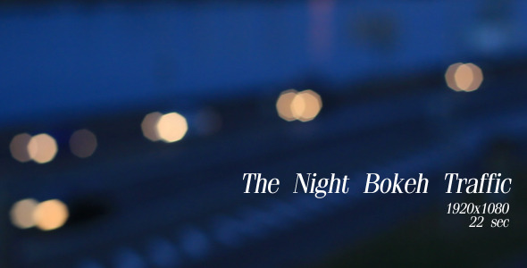 The Night Bokeh Traffic 10