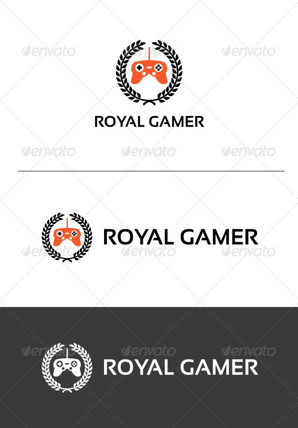 GraphicRiver Royal Gamer Logo Template 5373559