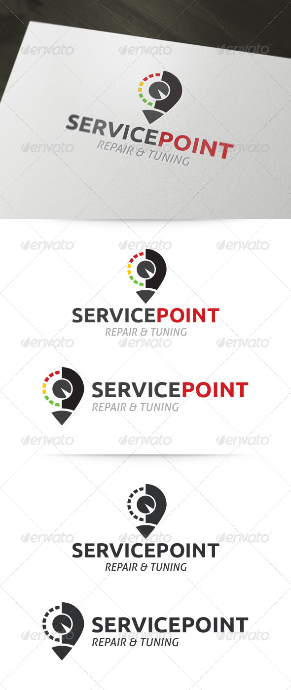 GraphicRiver Car Services Point 5373807