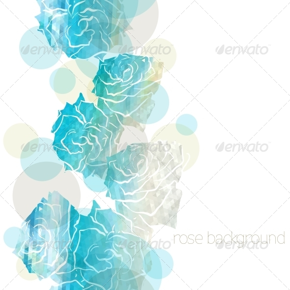 GraphicRiver Rose Background 5373923