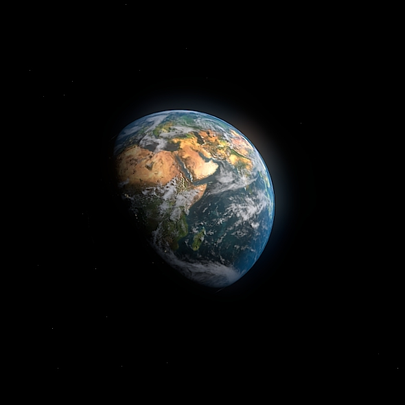3DOcean Planet Earth 5356829