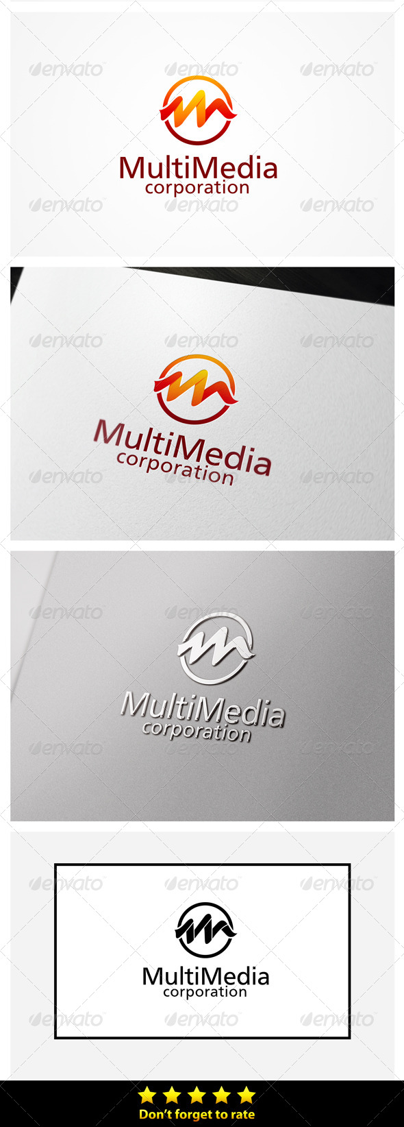 GraphicRiver M Letter Media 5374143