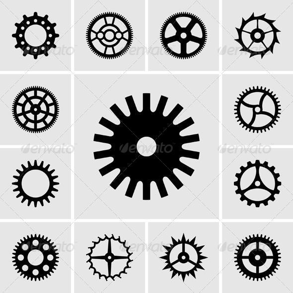 GraphicRiver Cogwheels 5374193