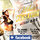 White Sensation Party Flyer + Facebook Timeline  - GraphicRiver Item for Sale