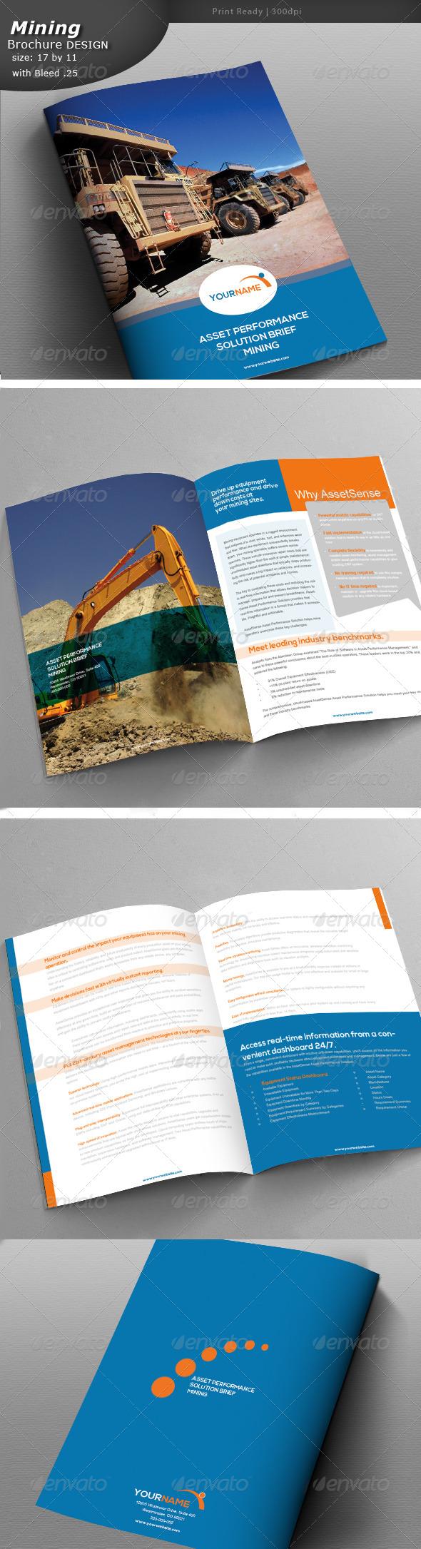 GraphicRiver Mining Brochure Design 5374808