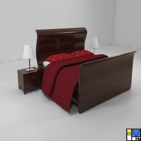 3DOcean Bed 5366807