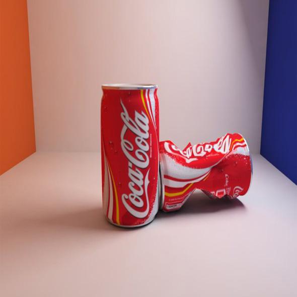 3DOcean Coca Cola 5375121