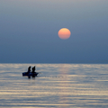 Fishing at sunrise - PhotoDune Item for Sale
