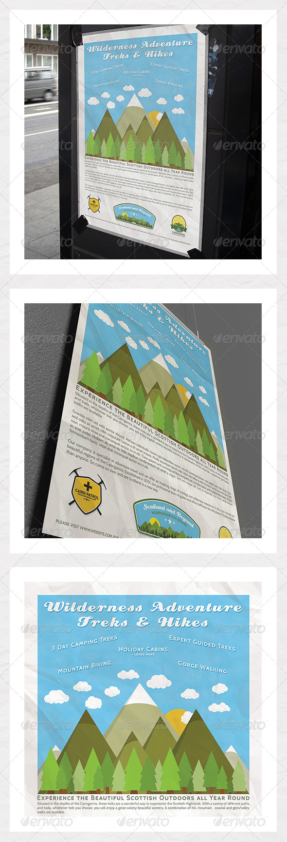 Outdoor Adventure Vacation Poster