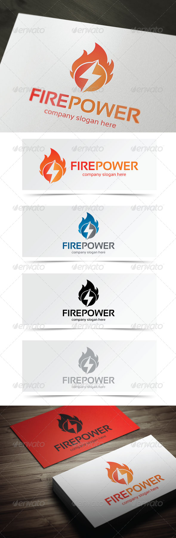 GraphicRiver Fire Power 5375807