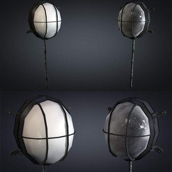 3DOcean Wall lamp 01 5375902
