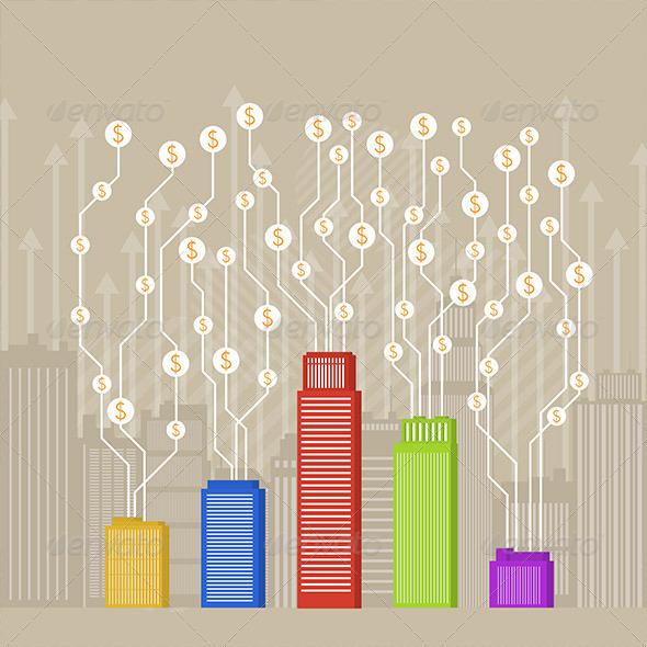 GraphicRiver City Business Profit 5377343