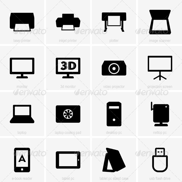 GraphicRiver Computer Icons 5377662