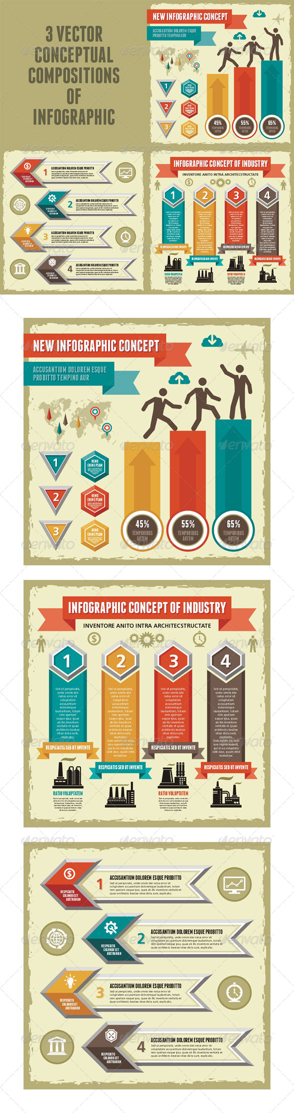 GraphicRiver Infographic Concept 3 Vector Scheme 5377732