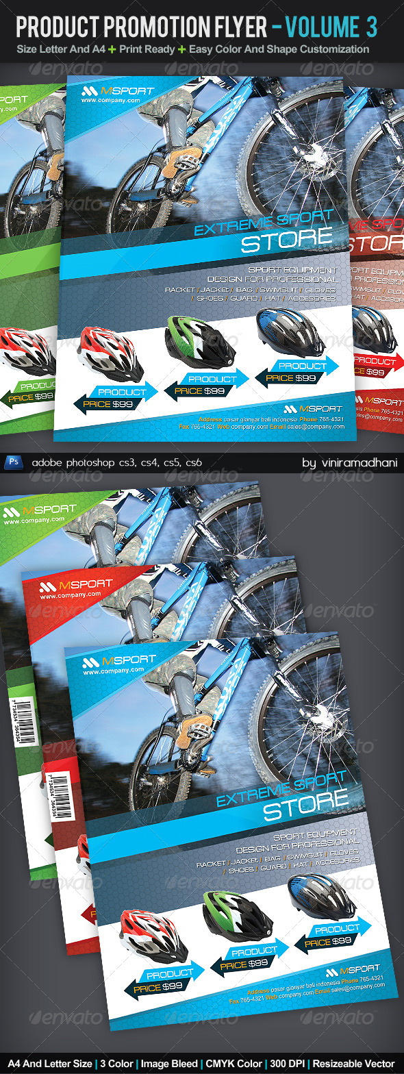 GraphicRiver Product Promotion Flyer Volume 3 5377808