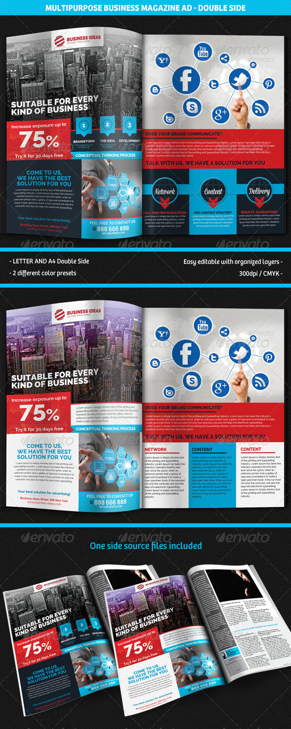 GraphicRiver Multipurpose Business Corporate Magazine Ad 5330355