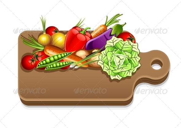 GraphicRiver Many Vegetables 5378386