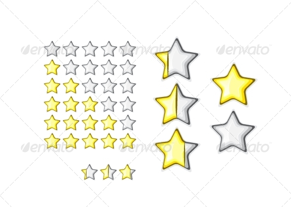 GraphicRiver Rating Stars 5378401