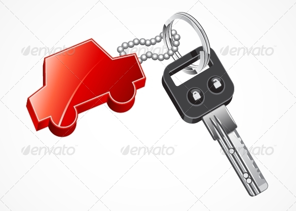 GraphicRiver Key Car 5378584