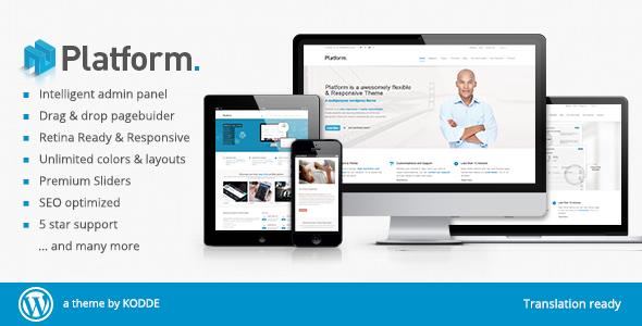 Platforma – Responsive Multi-Purpose Theme (Business) images