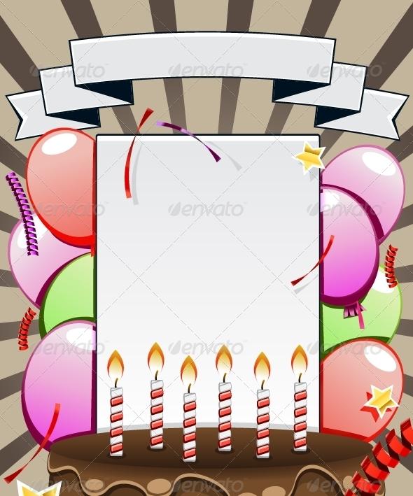 GraphicRiver Birthday Background 5378618