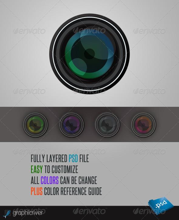 GraphicRiver Camera Lens 552268