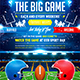 American football The Big Game poster - GraphicRiver Item for Sale