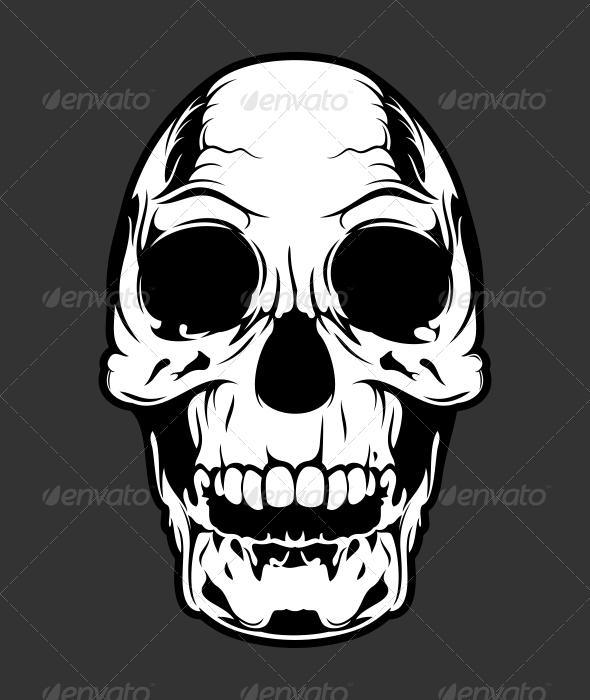 GraphicRiver Skull 1 5380254
